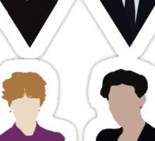 Sherlock and 'Friends' Sticker