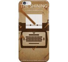 The Shining - Minimal Poster Print iPhone Case/Skin