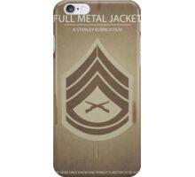 Full Metal Jacket - Minimal Poster Print iPhone Case/Skin