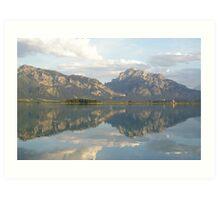 Lake Fussen, Germany Art Print