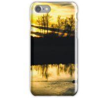 Flatford Mill Sunset (Vintage) iPhone Case/Skin