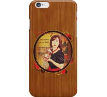 Nothing...stands between me and Nutella iPhone Case/Skin