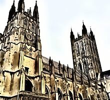 Canterbury Cathedral by DeneWest