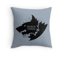Fenris Remembers (Fenris) Throw Pillow