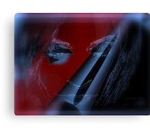 Blood On My Knife Canvas Print