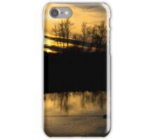 Flatford Mill Sunset iPhone Case/Skin