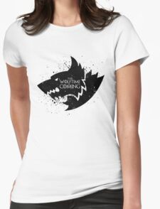 Fenris Remembers (Wolftime) Womens Fitted T-Shirt
