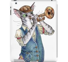 When Playing Jazz iPad Case/Skin