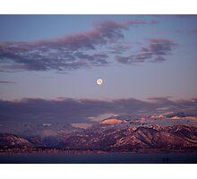 Alpine Moon Photographic Print