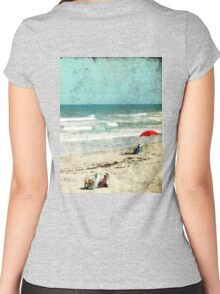 Summertime... Women's Fitted Scoop T-Shirt