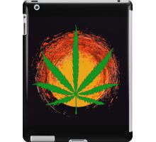 Marijuana Leaf and the Sun iPad Case/Skin