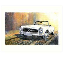Mercedes Benz W113 280 SL Pagoda Front Art Print