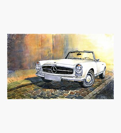 Mercedes Benz W113 280 SL Pagoda Front Photographic Print