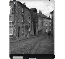 Street Scene, Lancaster, England iPad Case/Skin
