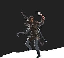 Rise of the Tomb Raider Cutout art by BinaryAtlas