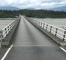 Haast River Bridge by Lozzie5243