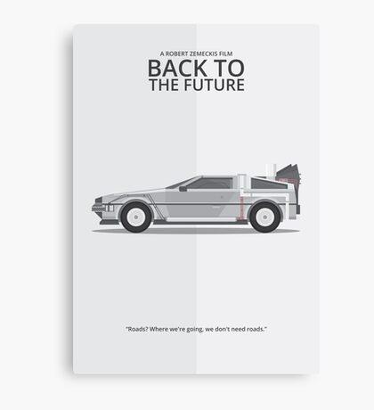 Delorean - Vehicle Inspired Print Canvas Print