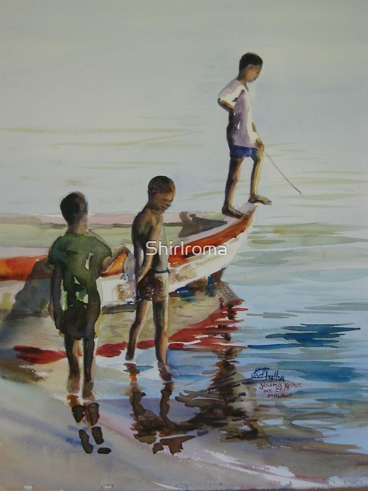 Lake Malawi boys by Shirlroma