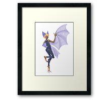 Bat Girl Framed Print