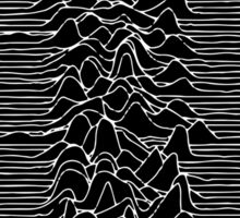 Joy Division - Unknown Pleasures Sticker