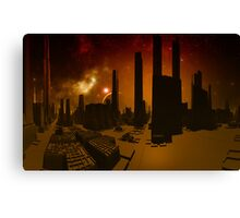 Abandoned World  Canvas Print