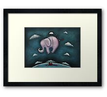 Safe landing Framed Print