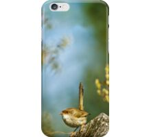 ~ a visitor in the garden ~ iPhone Case/Skin