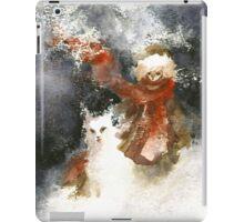 A friend in winter iPad Case/Skin