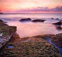Sunset at Bare Island by Jennifer Bailey