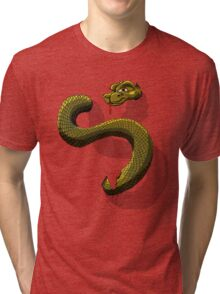 Snake-o-Rooter! Tri-blend T-Shirt