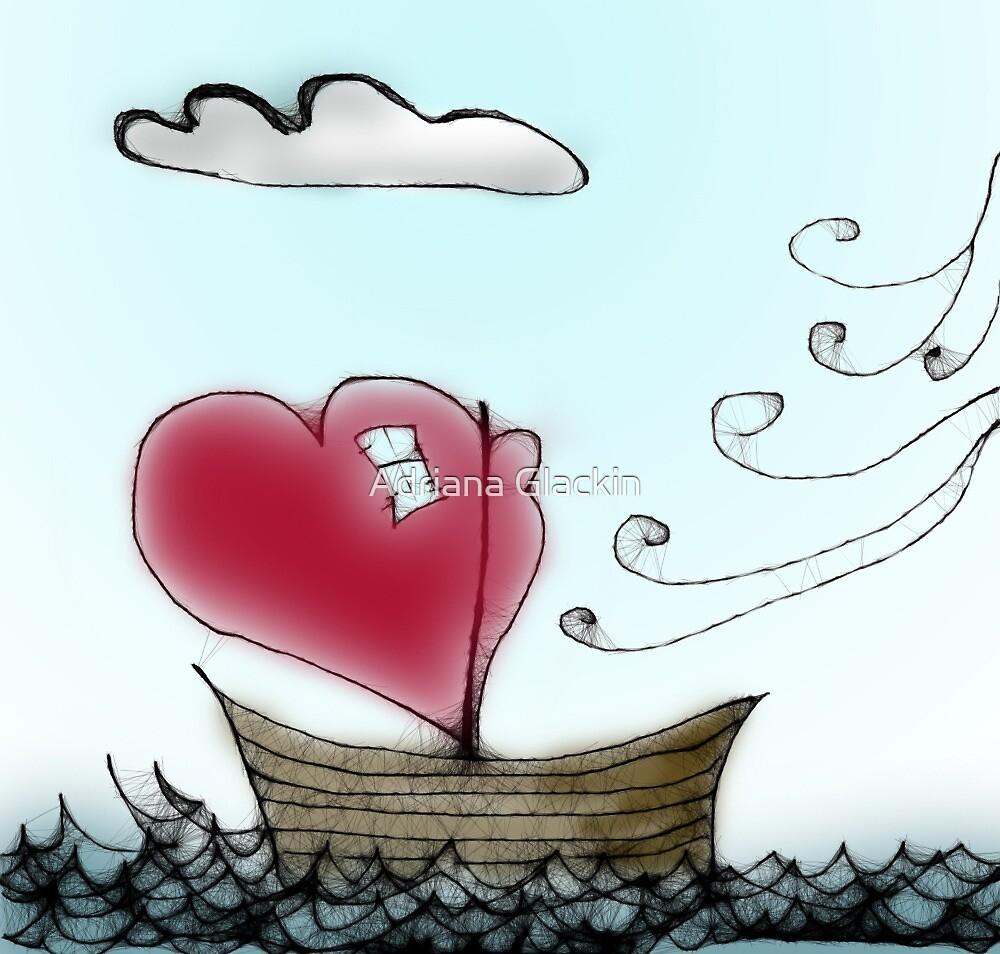 scribbler boat by Adriana Glackin