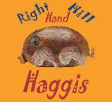 Right Hand Hill Haggis T-Shirt by Alex Gardiner