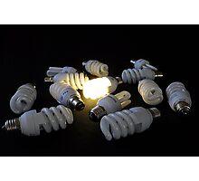 The Bright Idea Photographic Print