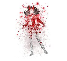 Scarlet Witch Splatter Graphic Photographic Print