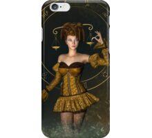 Libra fantasy zodiac sign iPhone Case/Skin