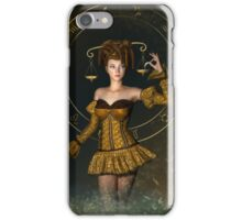 Libra fantasy zodiac sign iPhone Case/Skin