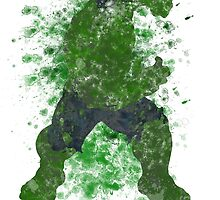 Hulk Splatter Graphic by ProjectPixel