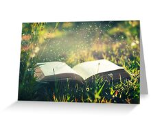 Some day you will be old enough to start reading fairy tales again ~ C S Lewis Greeting Card