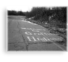 Graffiti Highway Canvas Print