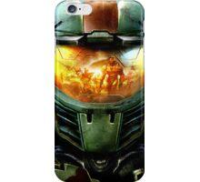 Halo Spartan Visor Relection iPhone Case/Skin