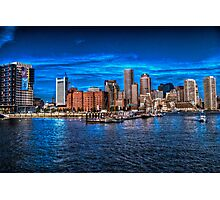 Boston Harbor Photographic Print