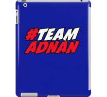 # Team Adnan iPad Case/Skin