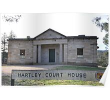 Hartley Court house Poster