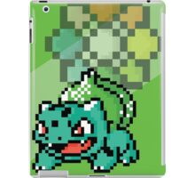 Pocket Pixel Green Pixel Art iPad Case/Skin
