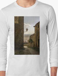Cortona, Tuscany Long Sleeve T-Shirt