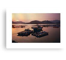 Fishing Boats South Korea Canvas Print