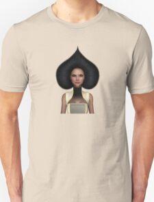 Queen of spades portrait Unisex T-Shirt