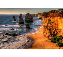 Icons - The Twelve Apostles, The Great Ocean Road - The HDR Experience Photographic Print