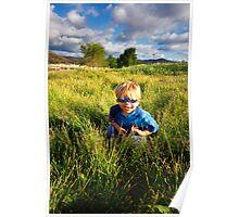 Tall Grass Peek-A-Boo Poster