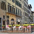 lovely little street in Florance Italy by sharon wingard